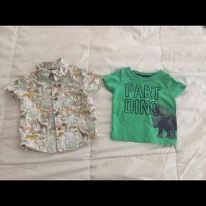 2 t-shirts {Carters}